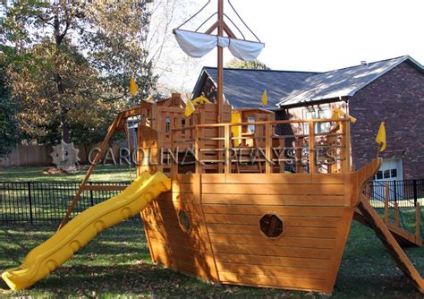 Pirate Ship Playhouse Plans