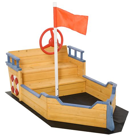 Pirate Ship Sandbox Plans Seats For Trucks