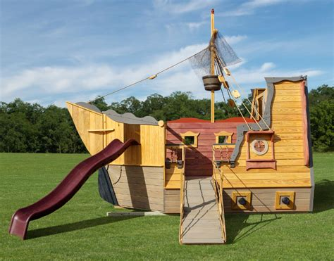 Pirate Ship Swing Set Diy