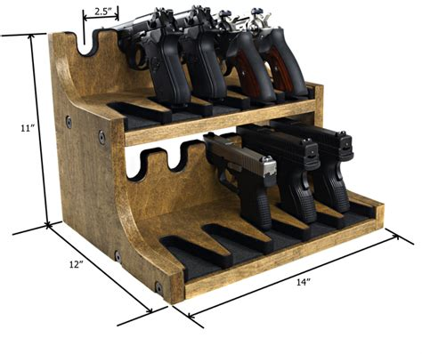 Pistol Gun Rack Plans