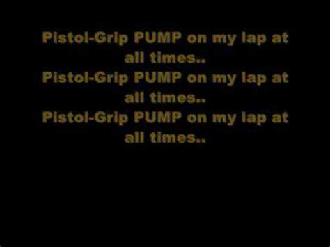 Pistol Grip Lyrics And 1911 Pistol Grips Skull