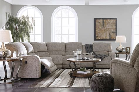 Pittsfield Fossil Power Reclining Sectional