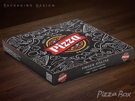 Pizza Box Design Images