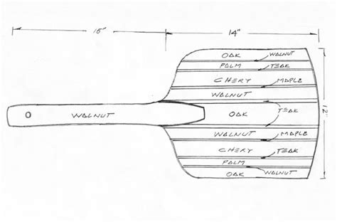 Pizza Peel Woodworking Plans