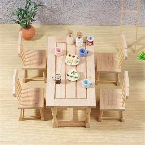 Plain Wooden Dollhouse