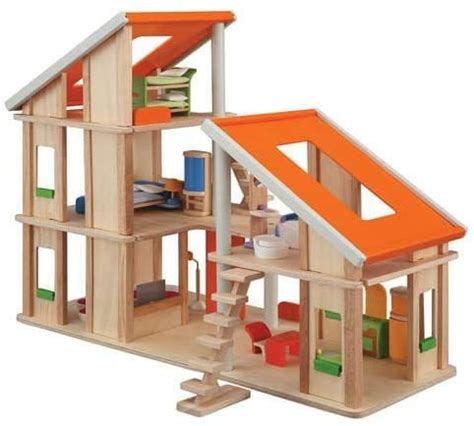Plan Toys 7141 Chalet Dollhouse