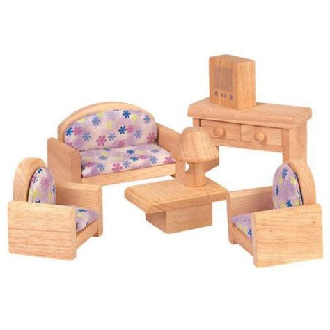Plan Toys Classic Dollhouse Furniture