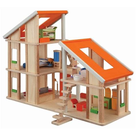 Plan-Chalet-Dollhouse-With-Furniture