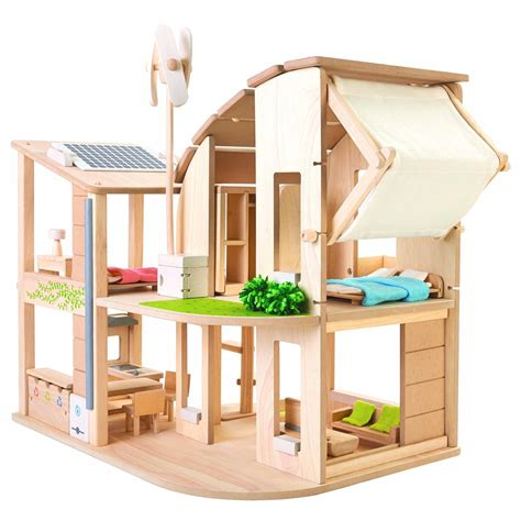 Plan-Toys-Eco-House-With-Furniture