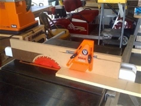 Planer Jig For Table Saw