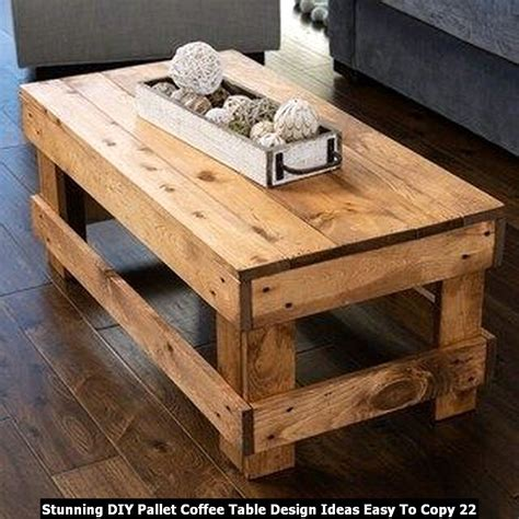 Plank Coffee Table Diy Ideas