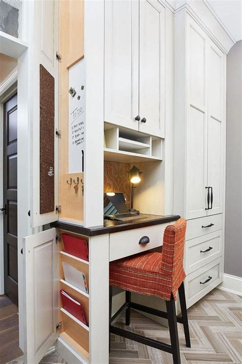 Planning-Desk-In-Kitchen
