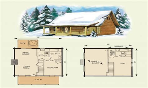 Plans For 16 X 24 Cabin With Loft