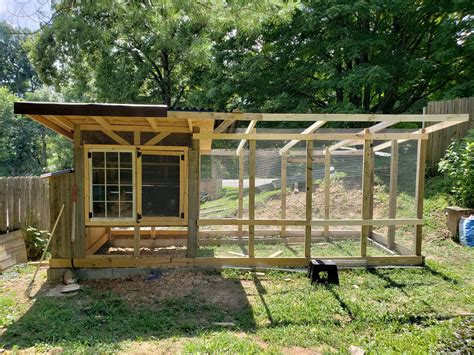 Plans For A Backyard Chicken Coop With A Run