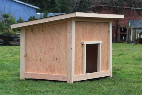 Plans For A Doghouse