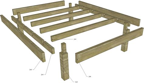 Plans For A Wooden Jointed Bed Frame