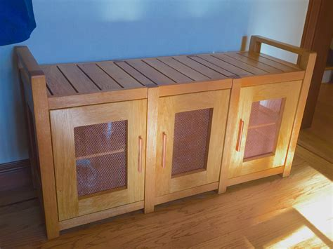 Plans For Bench With Shoe Storage