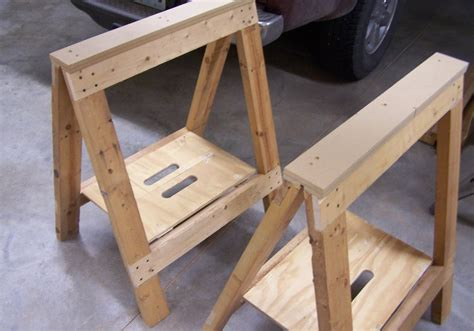 Plans For Building A Folding Sawhorses Walmart Money