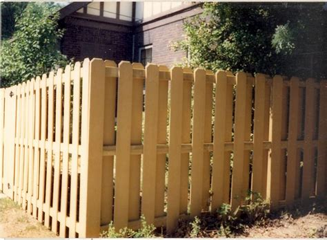Plans For Building A Shadow Box Fence