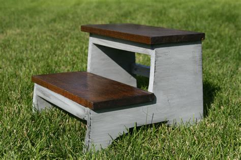 Plans For Building A Step Stool Projects Using Recycled Household