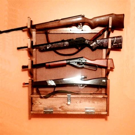 Plans For Building A Wall Gun Rack