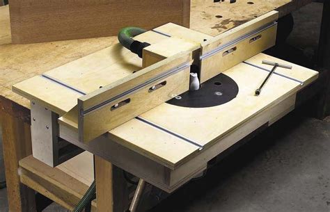 Plans For Building Your Own Router Table