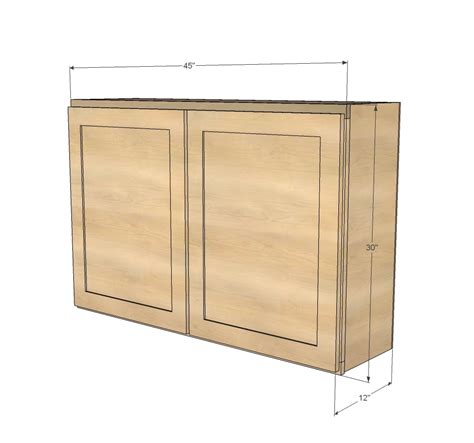 Plans For Diy Kitchen Wall Cabinet With Windows