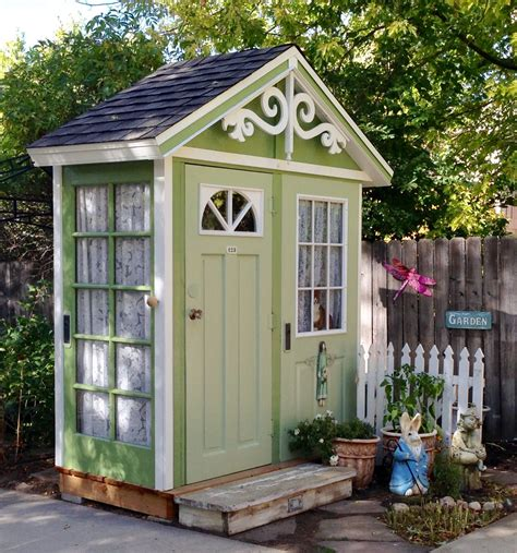 Plans For Garden Shed Made From Old Doors