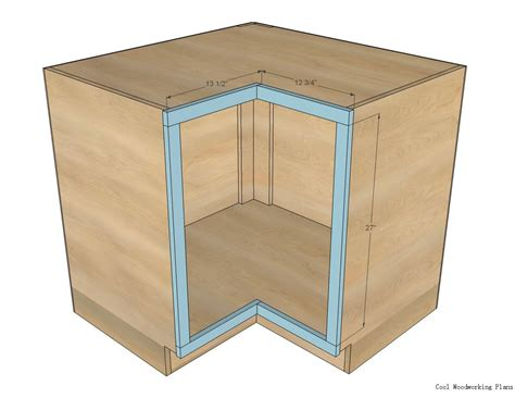 Plans For Kitchen Cabinets With Corner