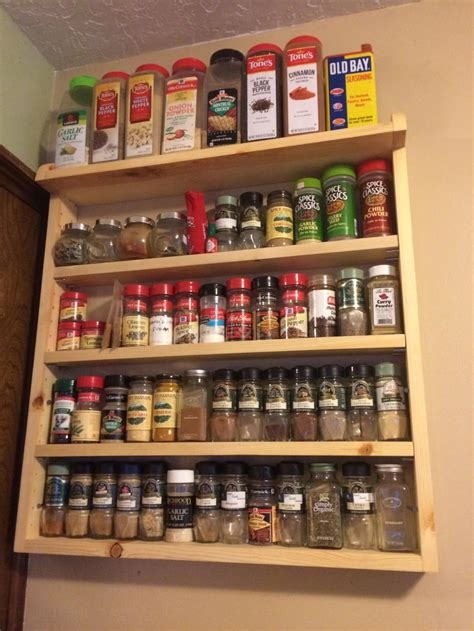Plans For Large Spice Rack