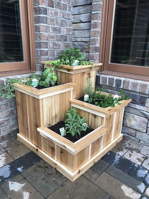 Plans For Outdoor Herb Box
