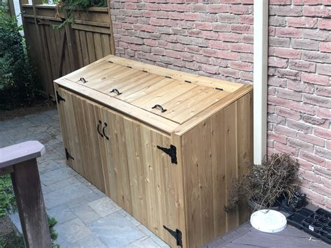 Plans For Outdoor Trash Shed