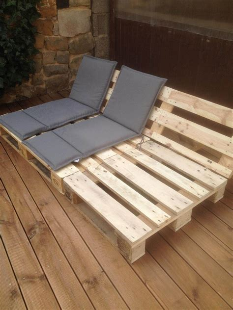 Plans For Pallet Lawn Chair Furniture
