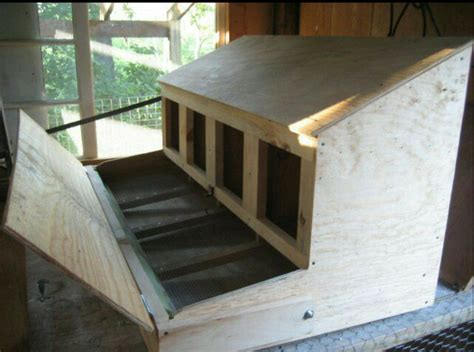 Plans For Roll Away Nest Box
