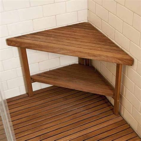 Plans For Shower Bench Made With Plastic Wood