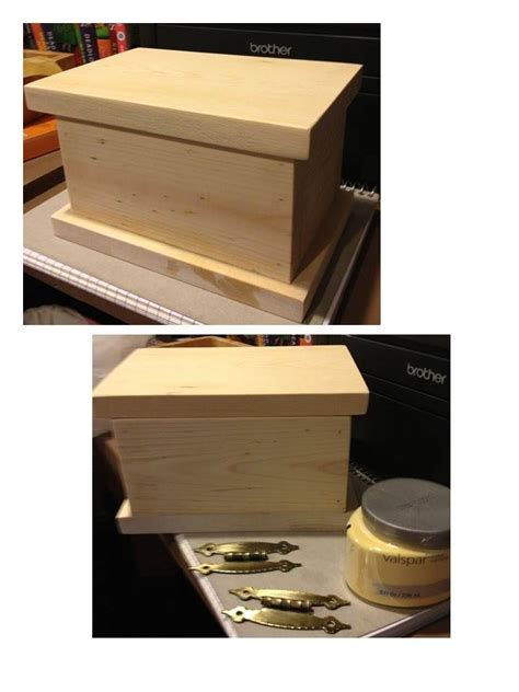 Plans For Simple Jewelry Box