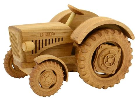 Plans For Steerable Toy Wooden Tractor