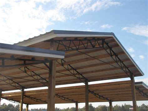 Plans For Tractor Shed Using Steel Joists