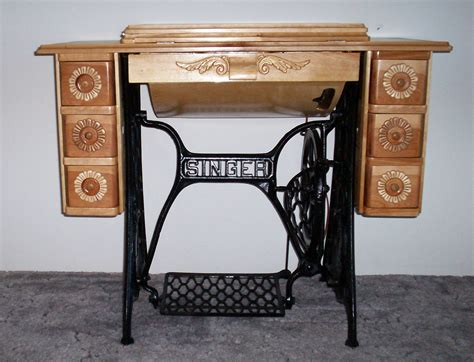 Plans For Treadle Sewing Machine Cabinet
