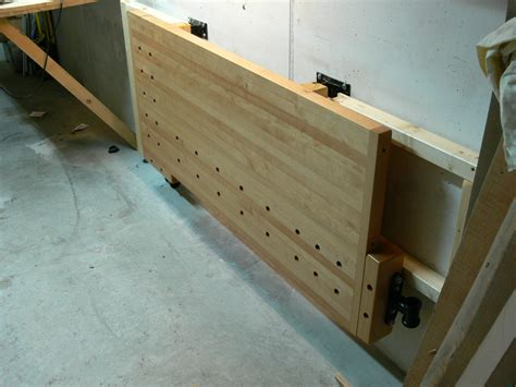 Plans For Wall Mounted Folding Workbench