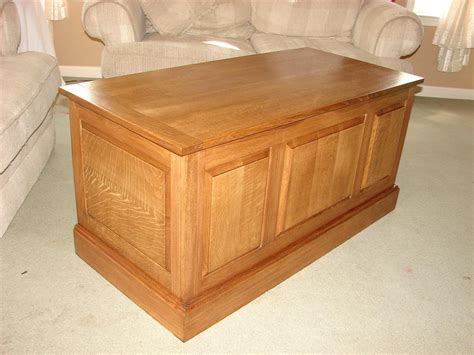 Plans For Wood Blanket Boxes