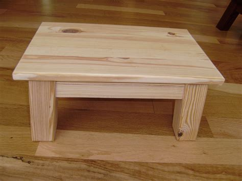 Plans For Wooden Footstools