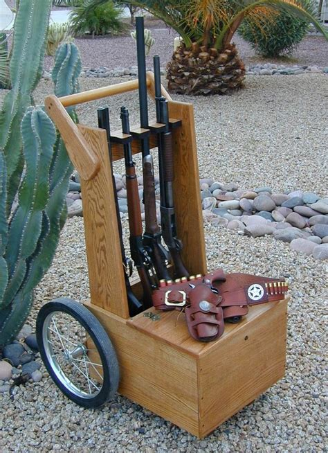 Plans For Wooden Gun Cart