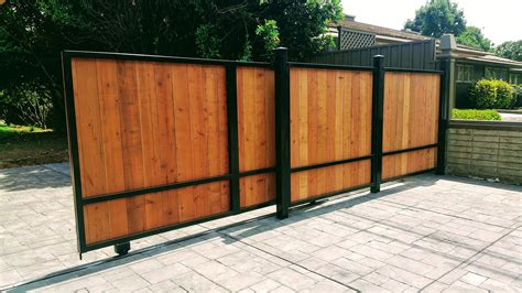 Plans For Wooden Sliding Driveway Gate