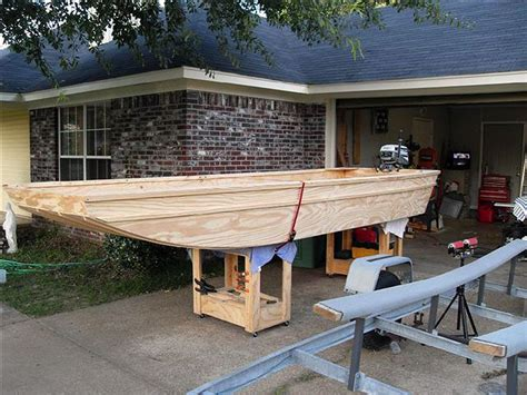 Plans To Build A Flat Bottom Boat