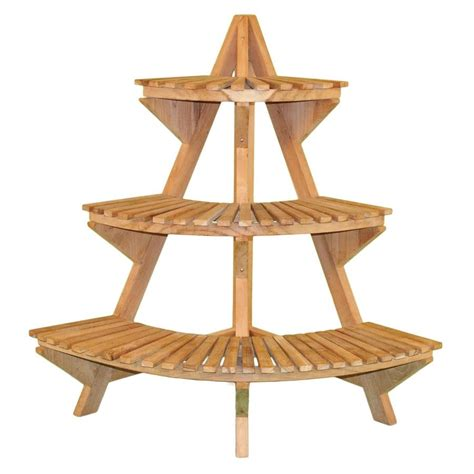 Plans To Build A Wooden Corner Plant Stand