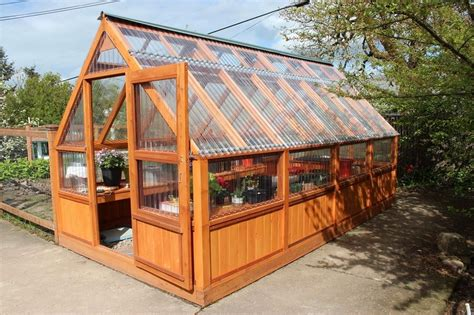 Plans To Build A Wooden Greenhouses Already Assembled