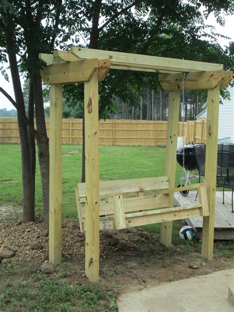 Plans To Build Arbor Swing