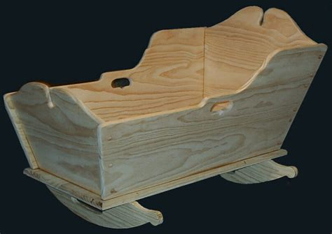 Plans To Build Early American Baby Cradle