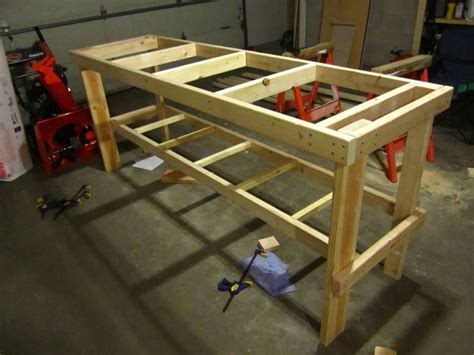 Plans To Build Your Own Workbench Plans